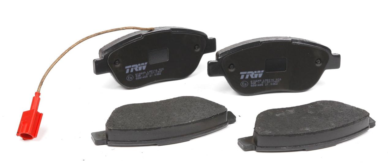Колодки дисковые перед (с датчиком) Fiat Doblo/Stilo/Bravo 1,4-1,9 2001-->Ate-13.0460-3827.2-Германия