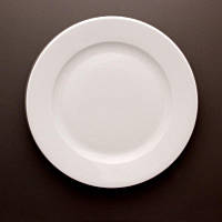 Тарелка плоская фарфоровая 22,5 см LUBIANA Kaszub Hel 232