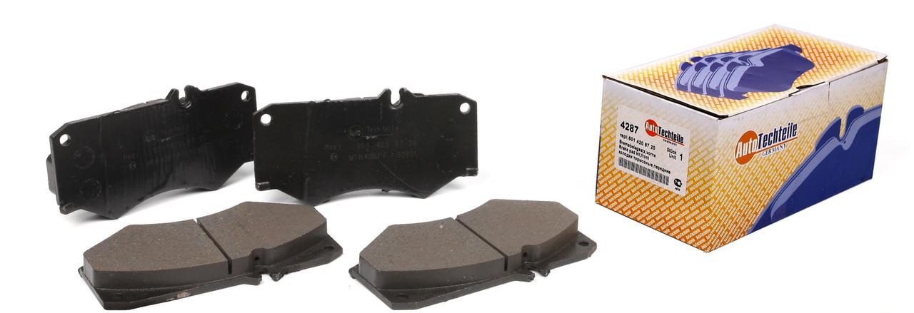 Колодки тормозные передние Mercrdes  207-410D 77-96 / G-Class W461-463 / LT40-55 Autotechteile A4287 Германия