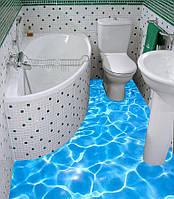 Наливной Пол в Ванной в Харькове, фото 1