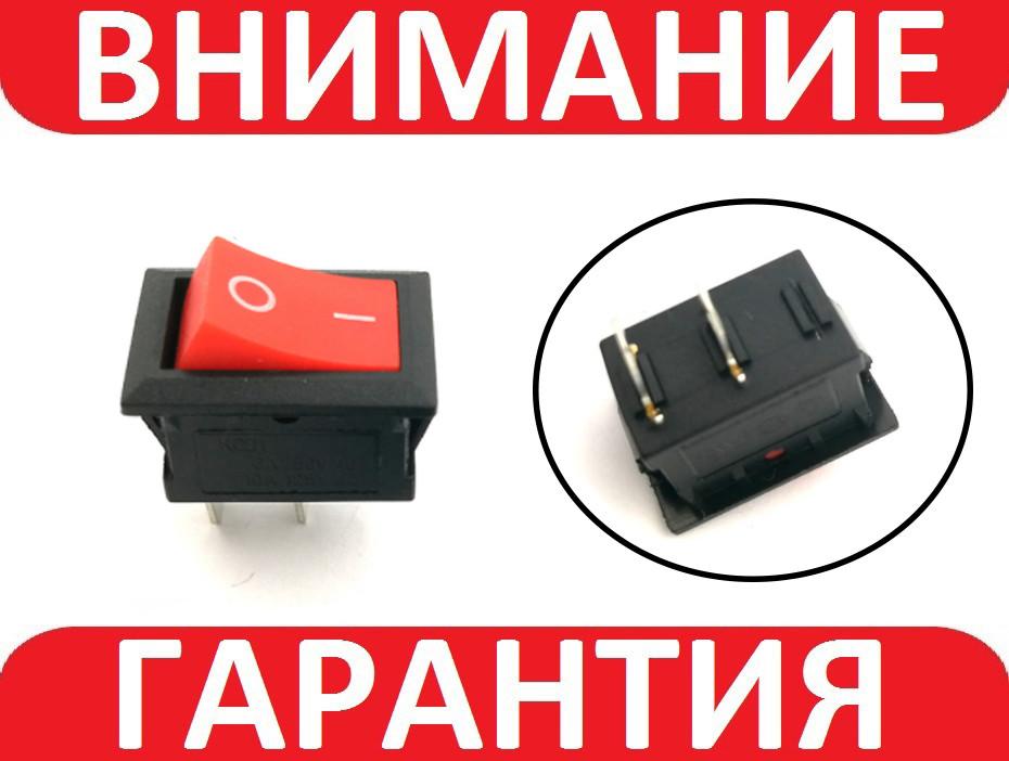 Переключатель, кнопка AC KCD-101 250В 6А, фото 1