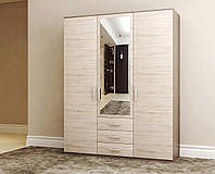 """Шкаф трехдверный """"Агат"""" с зеркалом (для спальни)"""