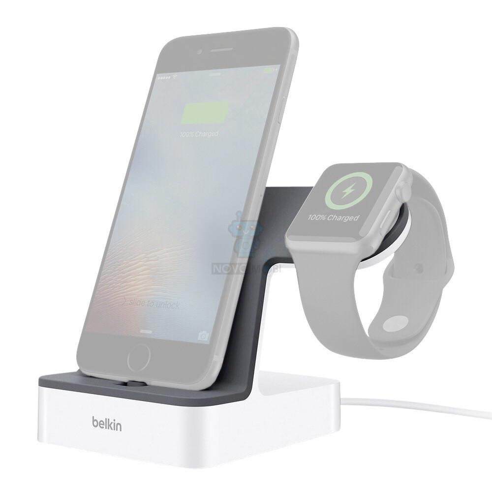 Зарядная док-станция, премиум класса для iPhone и Apple Watch, Belkin