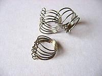 Кольцо с петельками. 20 мм