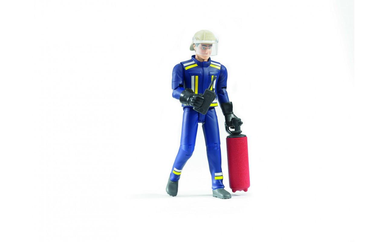 Фигурка пожарного с огнетушителем Bruder (60100)
