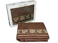 Простынь бамбуковая Havloom 200x220 в коробке pr-bamboo-deco-brown