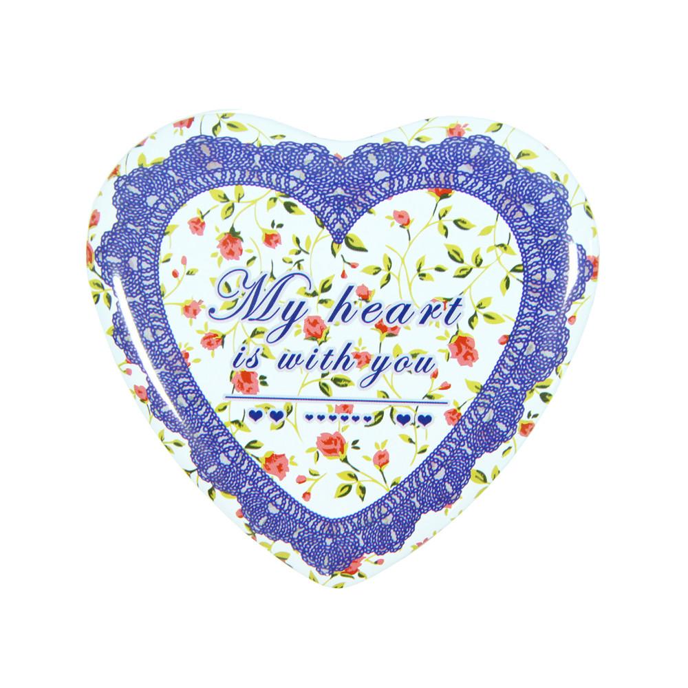 Набор шкатулок в виде Сердца Бабушкина любовь ( коробки сердечко )