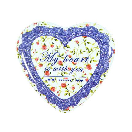 Набор шкатулок в виде Сердца Бабушкина любовь ( коробки сердечко ), фото 2