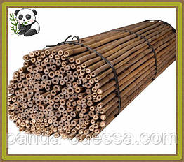 Бамбуковый ствол, опора, д.1,0 см, длина 1,05 м