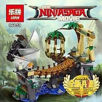 Конструктор Ninjago Movie Lepin 06059 Битва Гармадона и Мастера Ву 334 дет