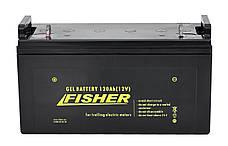 Электромотор лодочный Fisher 46 + аккумулятор Gel 120Ah, фото 3