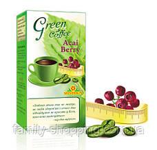 """Зелений кава для схуднення """"Green coffee & Acai Berry"""" Лайффорте"""