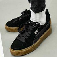Кроссовки Оригинал Puma Basket Satin W (36591502)