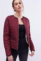 Куртка демисезонная K&ML 55 (42-52) Бордо, фото 1