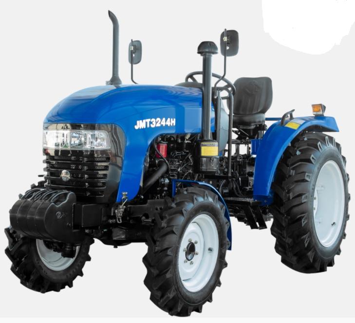 Трактор JINMA JMT3244H,(24л.с., 4х4, 3 цил., ГУР, 2-е сц.)