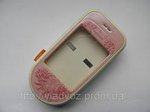 Корпус телефона для Nokia 7370 7373 розовый AAA, фото 3