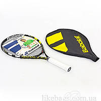 Ракетка для тенниса большого юниорская BABOLAT 140132-142 NADAL JUNIOR 23