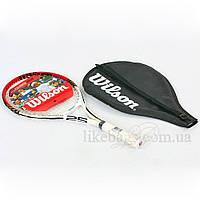 Ракетка для тенниса большого WILSON WRT227700 ROGER FEDERER 25 RKT