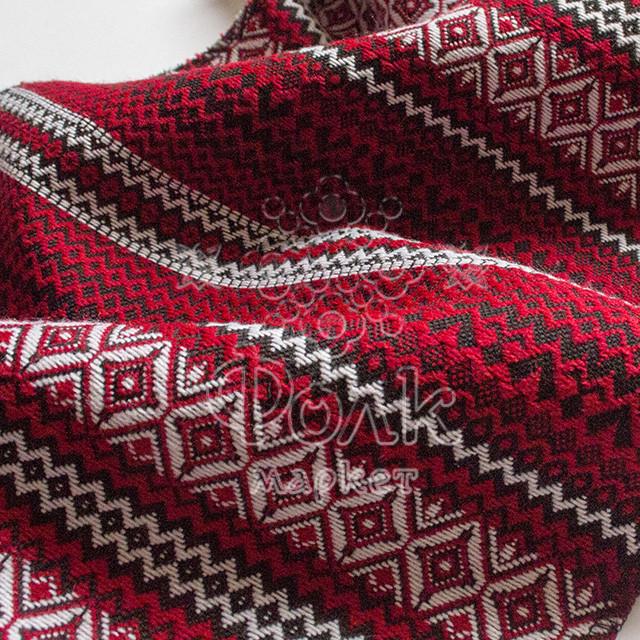 Ткань с украинской вышивкой Винтаж