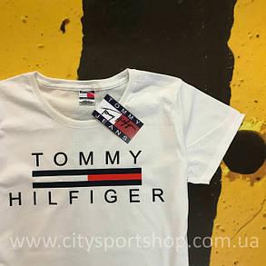 Футболка TOMMY Hilfiger JEANS | Белая | Оригинальная Бирка , фото 2