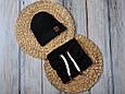 """Набор шапочка со снудом """"Hills"""", черный, фото 2"""