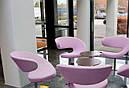 Дизайнерское мягкое кресло Опорто, сиреневый , фото 3