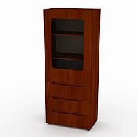 Шкаф книжный МС-21 яблоня Компанит, фото 1