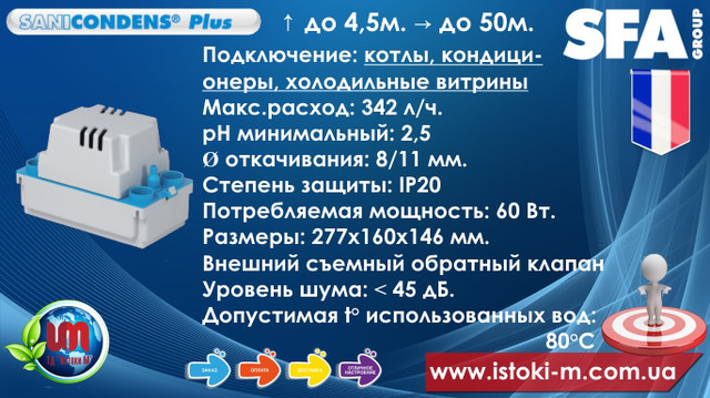 купить sfa sanicondens plus