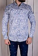Рубашка мужская с узорами