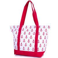 Женская тканевая сумка для пляжа famo dc1816-01 с ручками