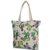 Женская пляжная тканевая сумка famo dc1803 с ручками
