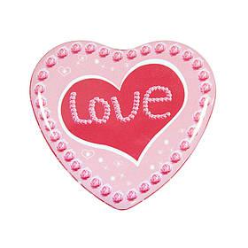 Набор контейнеров для сыпучих и мелочей Сердце Сердечная любовь ( набор жестяных коробок )