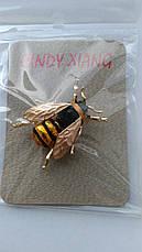 """Брошь - """"Пчела """" сувенирная. Реалистичная и нарядная., фото 3"""