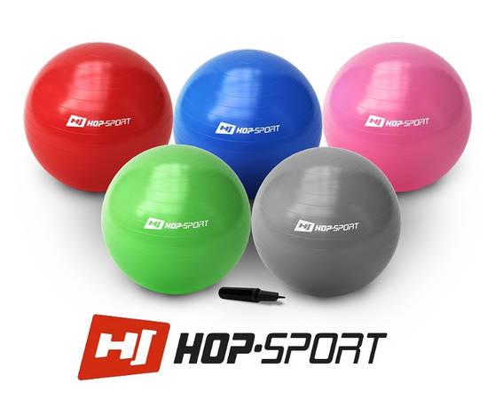 Фитбол Hop-Sport 65cm + насос