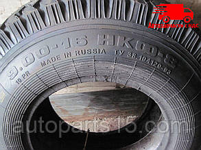 Шина 9,00-16 121А6 (НКФ-8), 10 сл, с камерой без ободной ленты (НкШЗ). Ціна з ПДВ