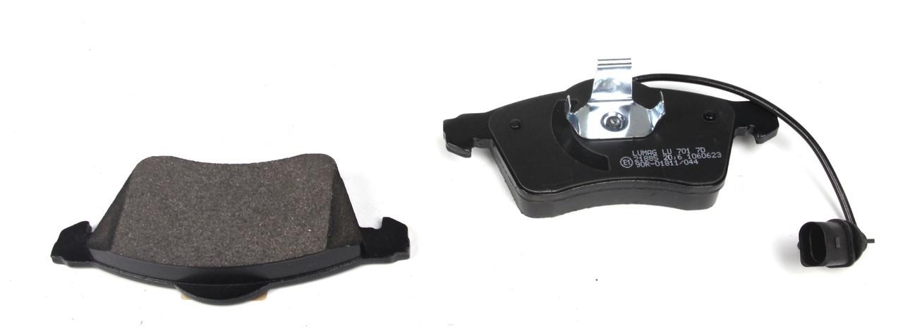 Колодки тормозные передние Т4 1.8 - 2.8 90-03 (ATE) R16 - Германия