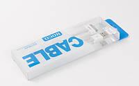 USB кабель iРhone 4G/4S HOCO UP301 белый