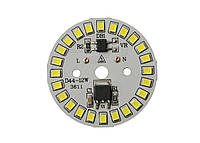 Светодиодный модуль SMD 2835, 12W, 220V Econom