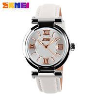 Красивые женские часы, Skmei 9075 Elegant White
