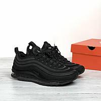 Мужские кроссовки Nike Air Max 97 SE Black(ТОП РЕПЛИКА ААА+)