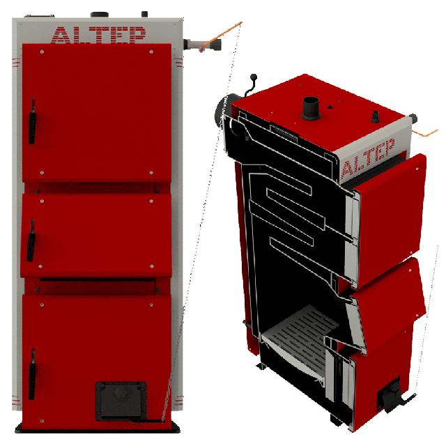 Котлы длительного горения Altep (Альтеп) Duo Uni (KT 2EN) - с механическим регулятором тяги