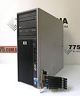 Компьютер HP Z400, Intel Xeon W3565 3.46GHz, RAM 4ГБ, HDD 320ГБ, GF GT 730 1GB (DVI,VGA,HDMI), фото 1