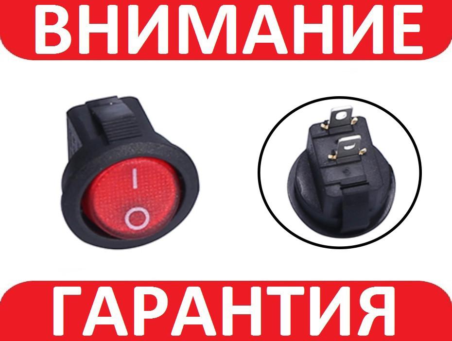 Переключатель, кнопка AC  250В 3А
