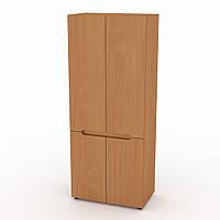 Шкаф для вещей МС-23 бук Компанит, фото 1
