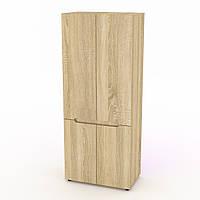 Шкаф для вещей МС-23 дуб сонома Компанит