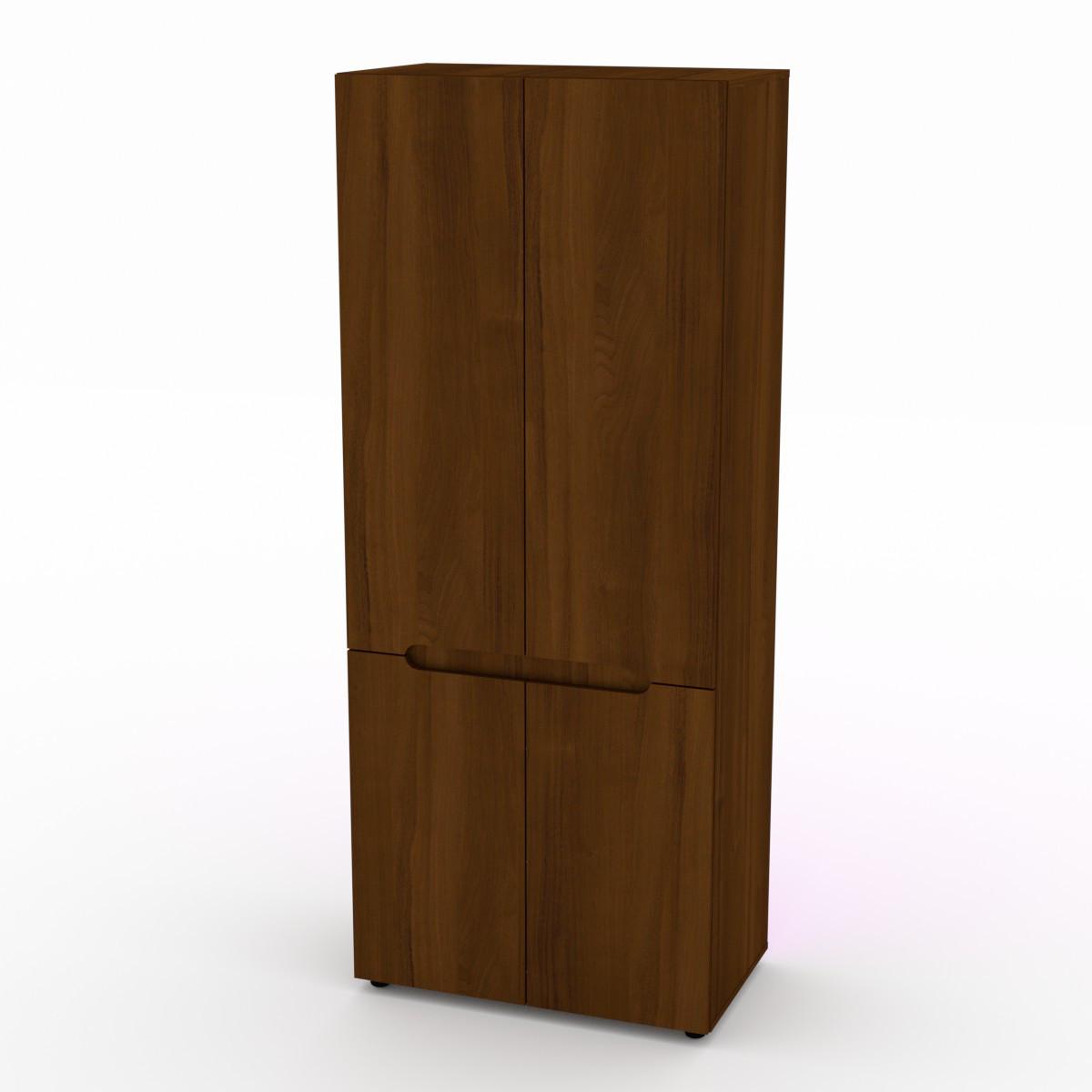 Шкаф для вещей МС-23 орех экко Компанит
