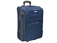 Новая улучшенная ткань чемодан большого размера на 2-х колесах Ormi 2289