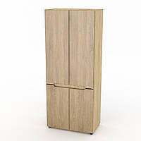 Шкаф для вещей МС-23 МДФ дуб сонома Компанит, фото 1
