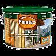 Pinotex Ultra Lasur фасадная краска устойчивая к выгоранию палисандр 10л, фото 2