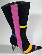 Сапоги женские 38 размера бренд POLLINI (ITALY), фото 3